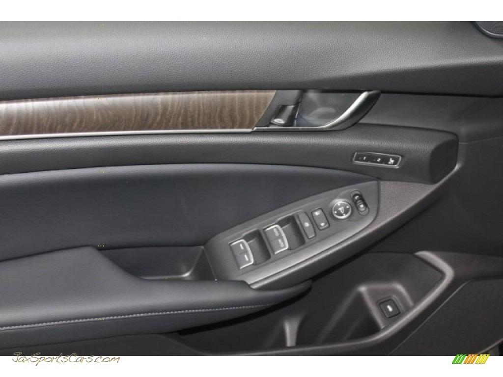 2018 Accord EX-L Sedan - Crystal Black Pearl / Black photo #9