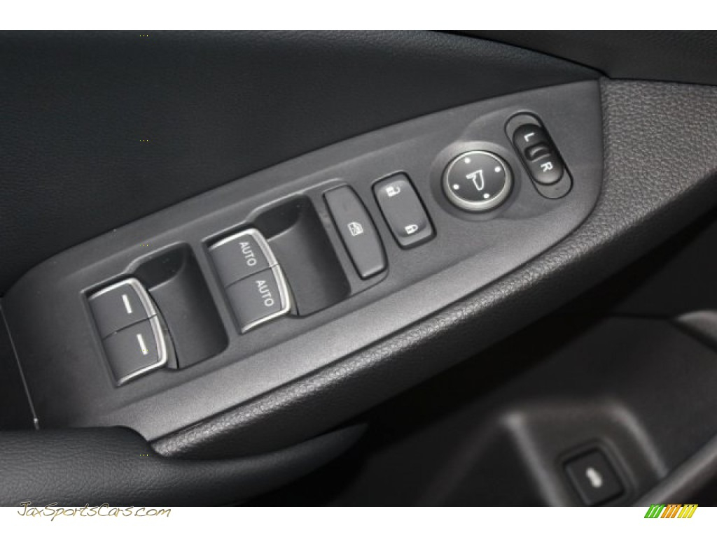 2018 Accord EX-L Sedan - Crystal Black Pearl / Black photo #11