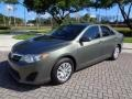 Toyota Camry L Cypress Green Pearl photo #1