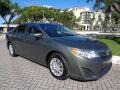 Toyota Camry L Cypress Green Pearl photo #13