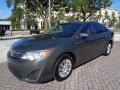 Toyota Camry L Cypress Green Pearl photo #44