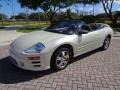 Mitsubishi Eclipse Spyder GS Dover White Pearl photo #9