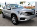Volkswagen Tiguan S Reflex Silver Metallic photo #2