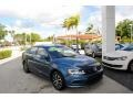 Volkswagen Jetta SE Silk Blue Metallic photo #1