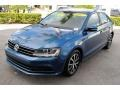 Volkswagen Jetta SE Silk Blue Metallic photo #4