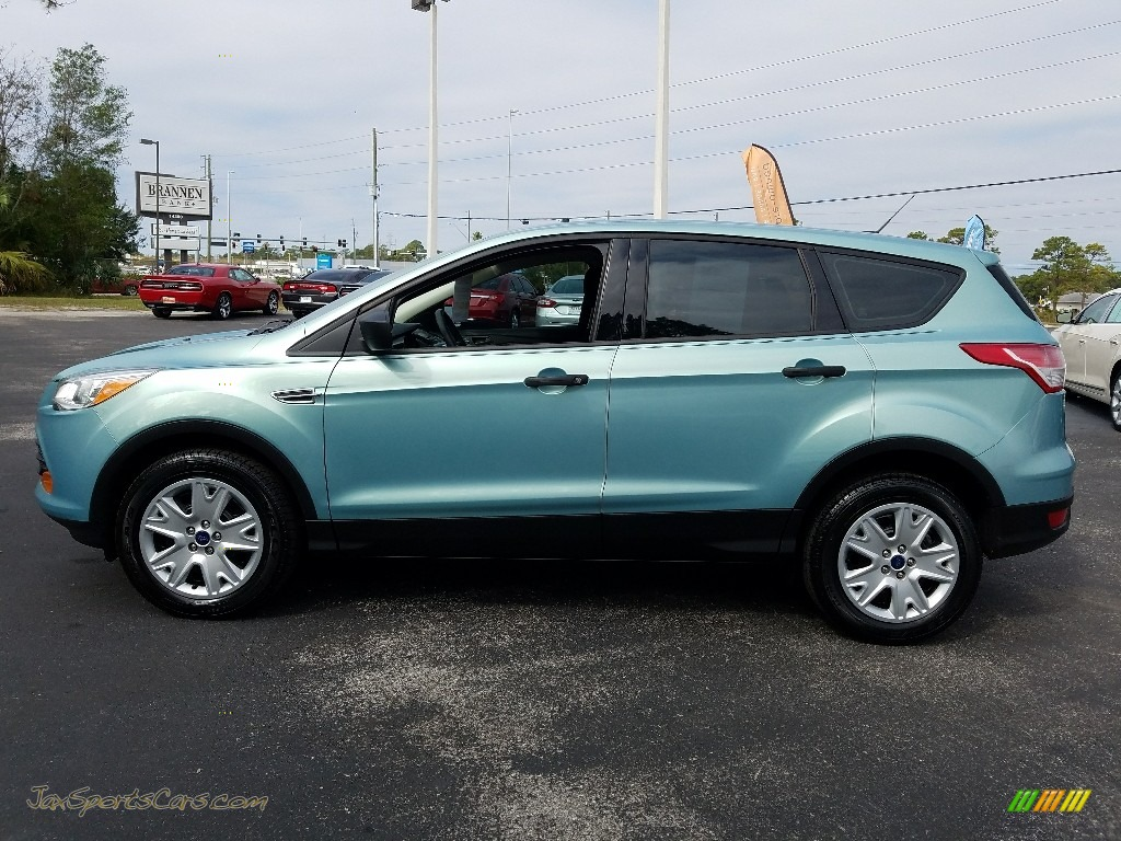 2013 Escape S - Deep Impact Blue Metallic / Charcoal Black photo #2