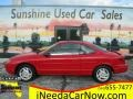 Ford Escort ZX2 Coupe Bright Red photo #1