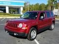 Jeep Patriot Sport Deep Cherry Red Crystal Pearl photo #1