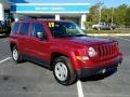 Jeep Patriot Sport Deep Cherry Red Crystal Pearl photo #7
