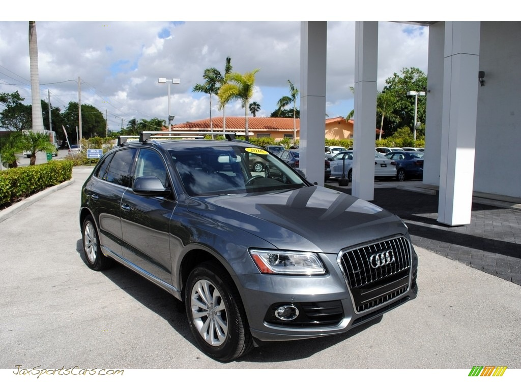 2016 Q5 2.0 TFSI Premium Plus quattro - Monsoon Gray Metallic / Titanium Gray photo #1