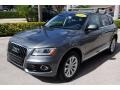 Audi Q5 2.0 TFSI Premium Plus quattro Monsoon Gray Metallic photo #4