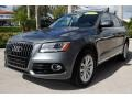 Audi Q5 2.0 TFSI Premium Plus quattro Monsoon Gray Metallic photo #5