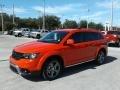 Dodge Journey Crossroad Blood Orange photo #1