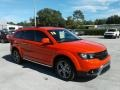 Dodge Journey Crossroad Blood Orange photo #7