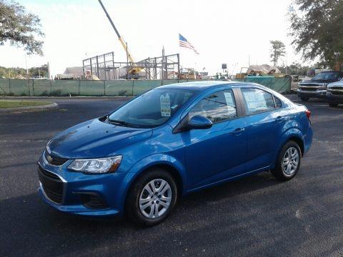 Kinetic Blue Metallic 2018 Chevrolet Sonic LS Sedan