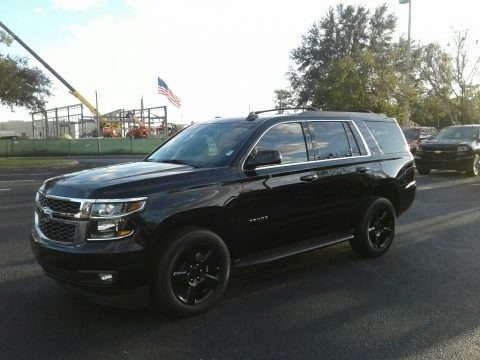 Black 2018 Chevrolet Tahoe LT