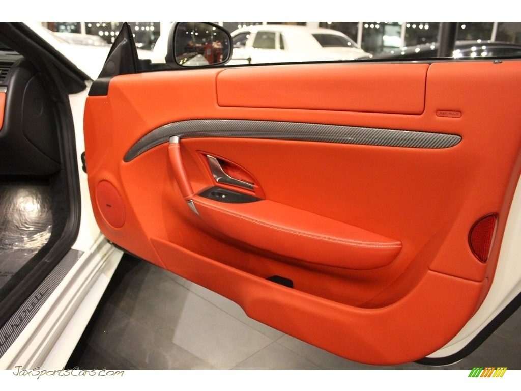 2011 GranTurismo S Automatic - Bianco Eldorado (White) / Rosso Corallo photo #18