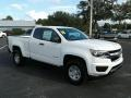 Chevrolet Colorado WT Extended Cab Summit White photo #7