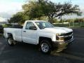 Chevrolet Silverado 1500 WT Regular Cab Summit White photo #7