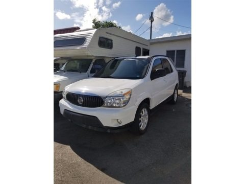 Frost White 2007 Buick Rendezvous CXL