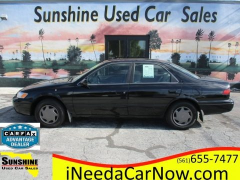 Black 1998 Toyota Camry LE