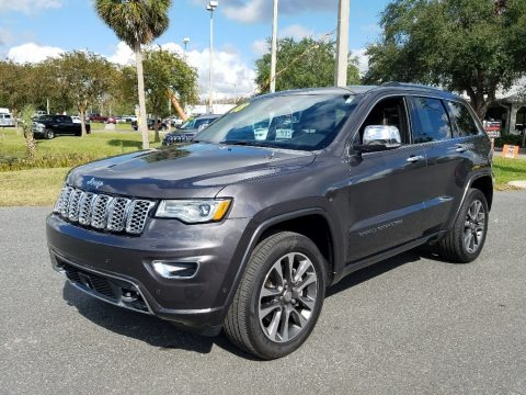 Granite Crystal Metallic 2018 Jeep Grand Cherokee Overland 4x4