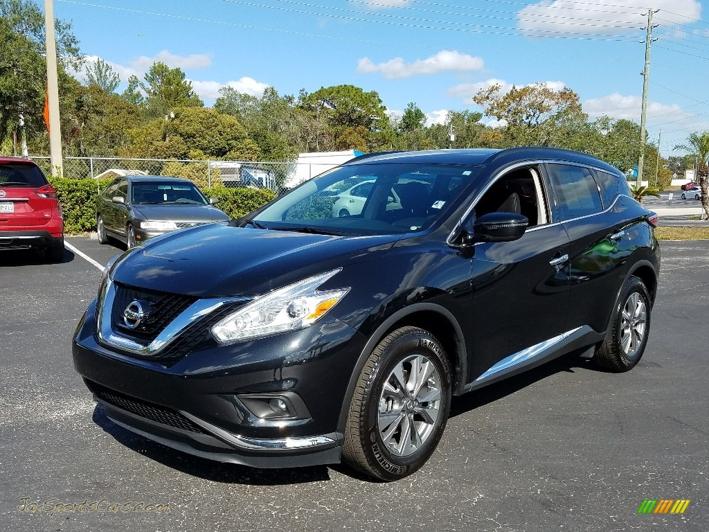 2017 Murano SV - Magnetic Black / Graphite photo #1