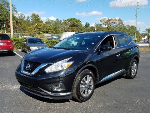 Magnetic Black 2017 Nissan Murano SV