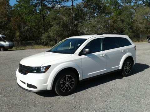 Vice White 2018 Dodge Journey SE