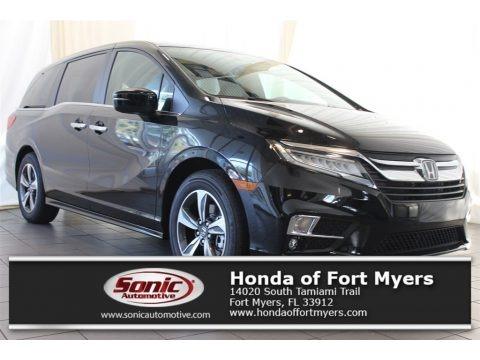 Crystal Black Pearl 2018 Honda Odyssey Touring