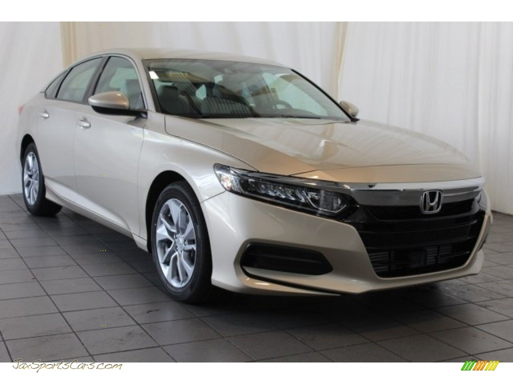 2018 Accord LX Sedan - Champagne Frost Pearl / Ivory photo #2