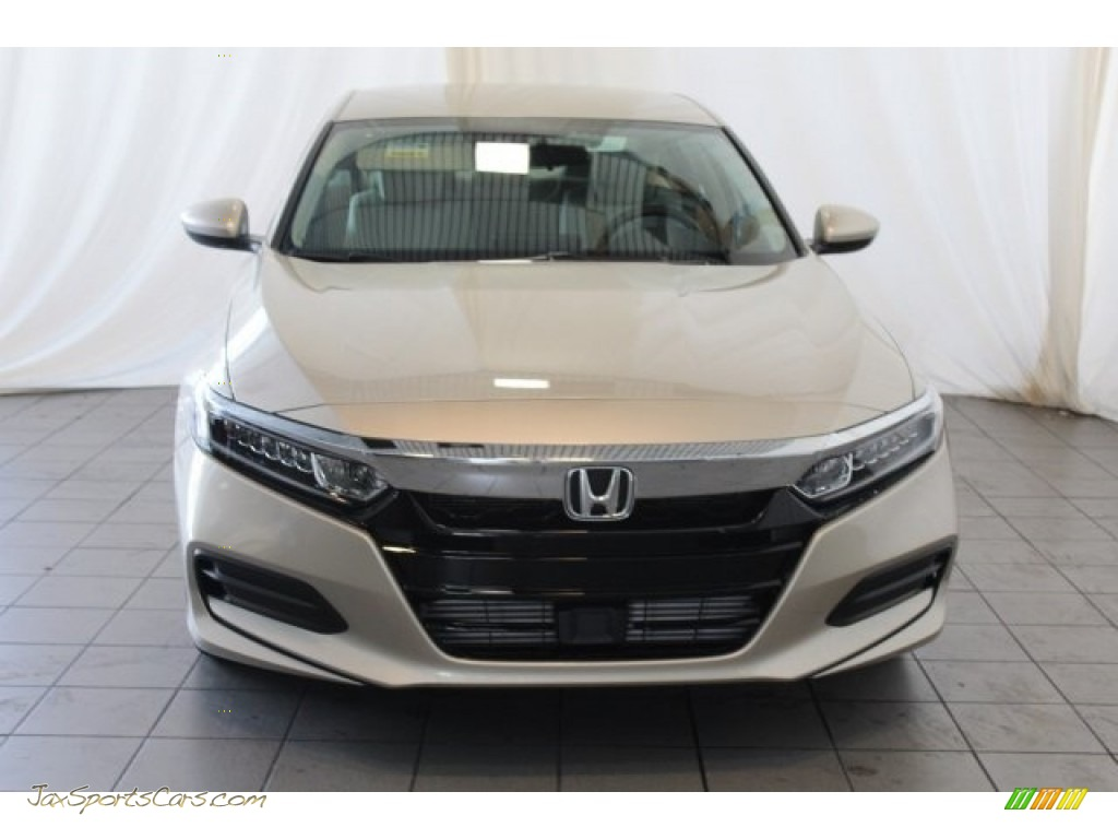 2018 Accord LX Sedan - Champagne Frost Pearl / Ivory photo #4