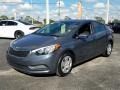 Kia Forte LX Sedan Steel Blue photo #1