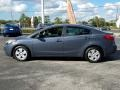 Kia Forte LX Sedan Steel Blue photo #2