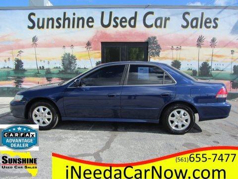 Eternal Blue Pearl 2002 Honda Accord EX Sedan