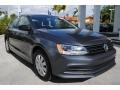 Volkswagen Jetta S Platinum Grey Metallic photo #2
