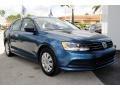 Volkswagen Jetta S Silk Blue Metallic photo #2
