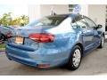 Volkswagen Jetta S Silk Blue Metallic photo #10
