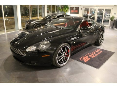 Jet Black 2005 Aston Martin DB9 Coupe