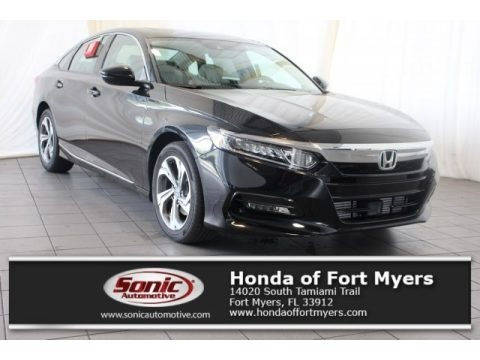 Crystal Black Pearl 2018 Honda Accord EX-L Sedan
