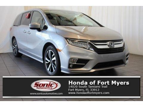 Lunar Silver Metallic 2018 Honda Odyssey Elite