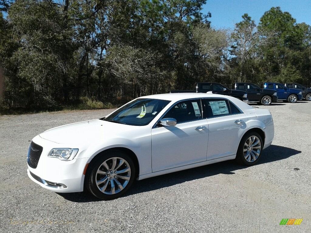 Bright White / Deep Mocha Chrysler 300 Limited