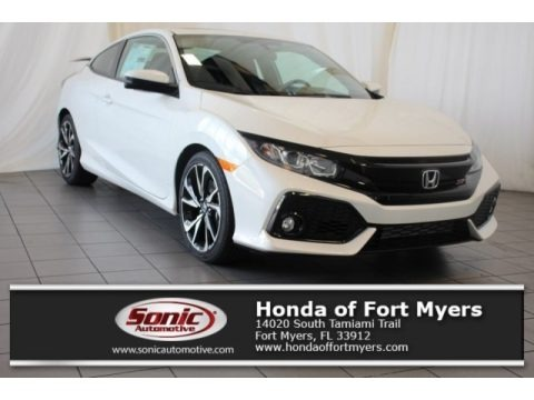 White Orchid Pearl 2018 Honda Civic Si Coupe