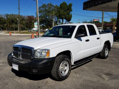 Bright White 2006 Dodge Dakota ST Quad Cab