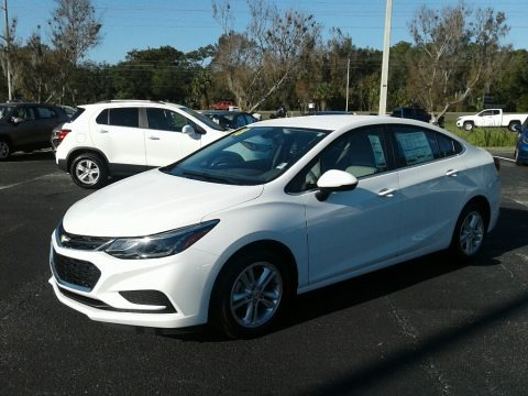 Summit White 2018 Chevrolet Cruze LT