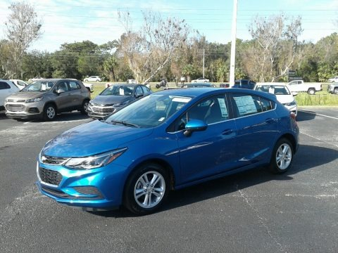 Kinetic Blue Metallic 2018 Chevrolet Cruze LT Hatchback