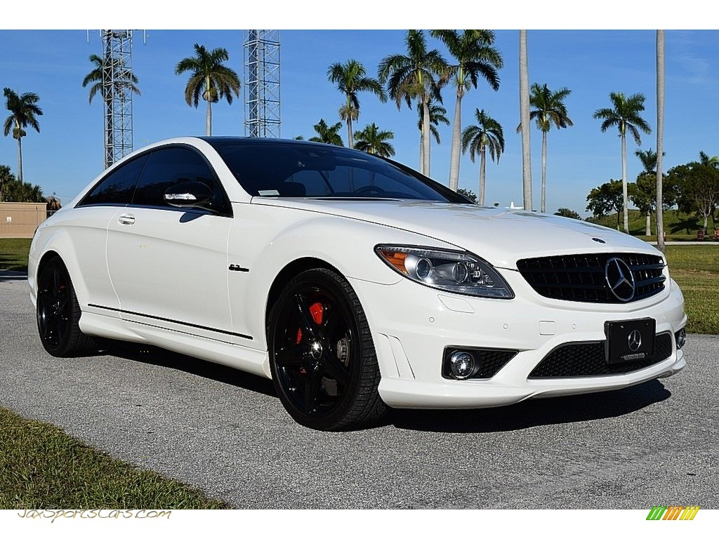 2008 CL 63 AMG - Arctic White / Black photo #1