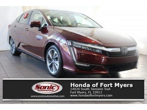 Crimson Pearl 2018 Honda Clarity Touring Plug In Hybrid