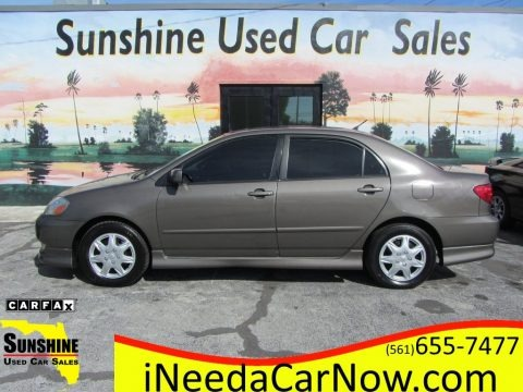 Charcoal Gray Metallic 2003 Toyota Corolla S