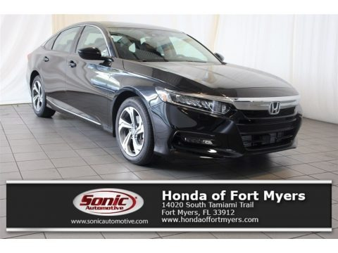 Crystal Black Pearl 2018 Honda Accord EX Sedan